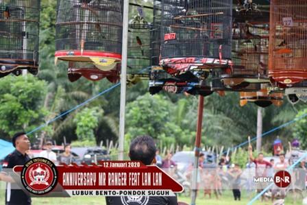 Aniversary Mr.Ranger Feat Lan Lan Berjalan Sukses