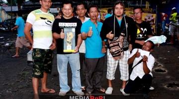 Jambi Team raih juara bird club setelah MB Bintang milik AXL dan LB Juve milik H.Muklis tampil impresif