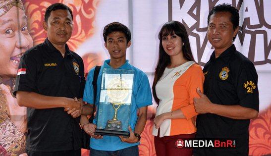 Lindu Aji BC Feat Ceriwis Gaet Kontestan di Tengah Hujan Kota Semarang