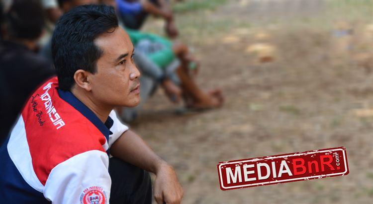 Jejen Sadewa tetap mengerek bendera BnR di TBB Tamelang.
