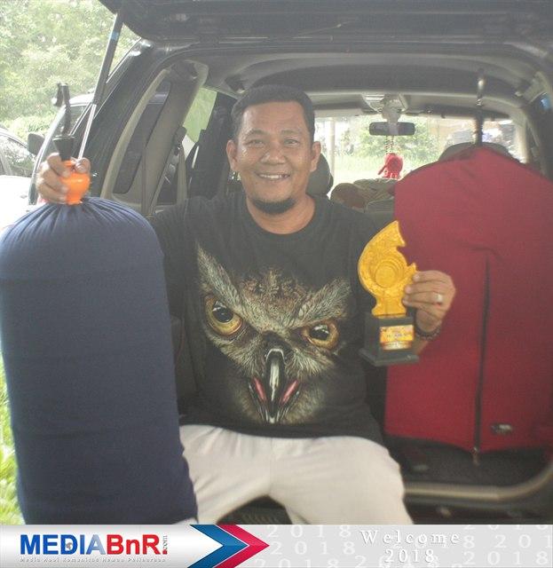 Jelex debutan terbaru Ayah Suri dari Palapa BC, rebut juara ke-1 di love bird Paud B IDIR BF