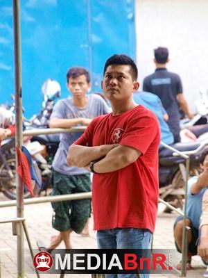 Jhoni Liu Owner Pasar Seger Enterprise Kaliders Pantau Jalannya Latpres