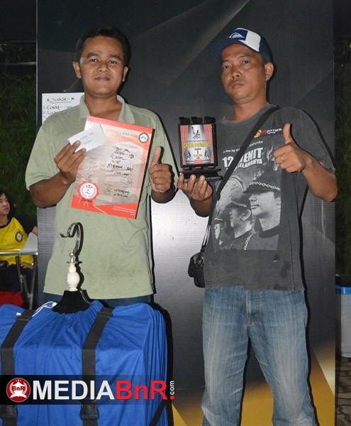 Jibril 09 raih juara 1 dikelas kacer VIP