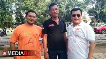 Joko TJm (kiri) Ketua Pelaksana, Tony Jangkung & Luckyto suryadi