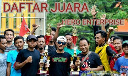 Daftar Juara Latpres Exclusive Hero Enterprise feat BnR (31/3/2019)