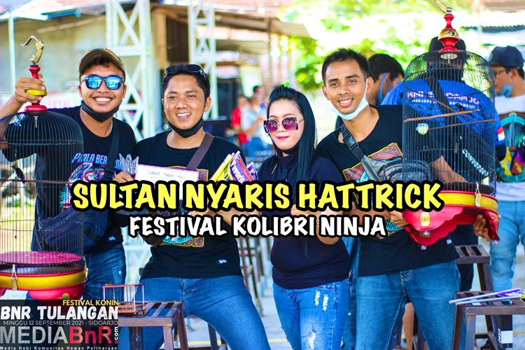 Kunci Sukses Konin Sultan Nyaris Hattrik di Festival Kolibri Ninja – BnR Tulangan, Sidoarjo