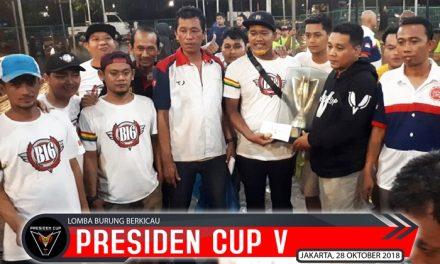B 16 BC Terbaik Di Presiden Cup V