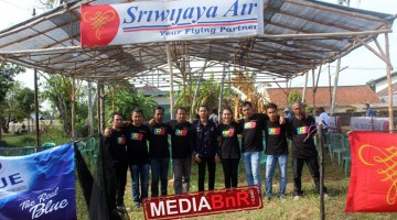 Juri Mahakarya Babel bersama Mr.Riki Sriwijaya Air