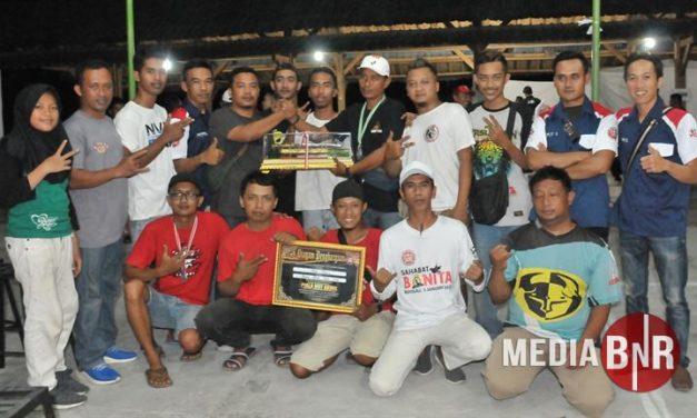 Gelaran Sukses Dan Konduktif Dihadiri Pemain Lintas Blok, Kaw Team, Dewasakti Juara Umum