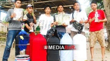 KCM Sampang Borong juara