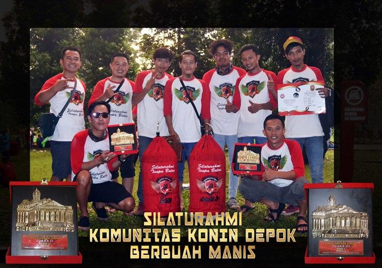 Silaturahmi KKD (Komunitas Konin Depok) Berbuah Manis
