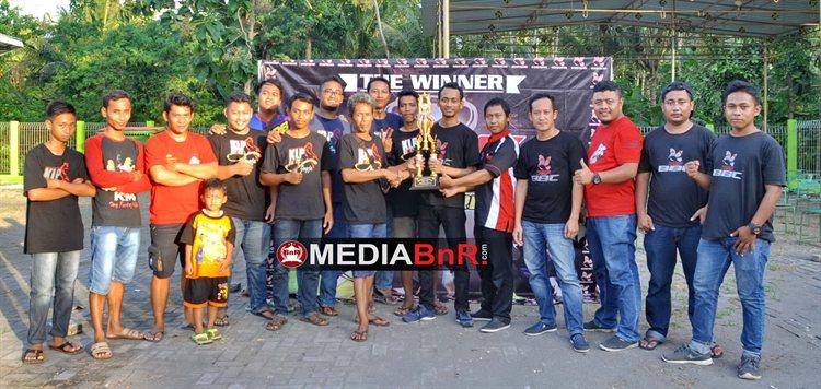 KLP Team sebagai juara umum BBC akhir tahun