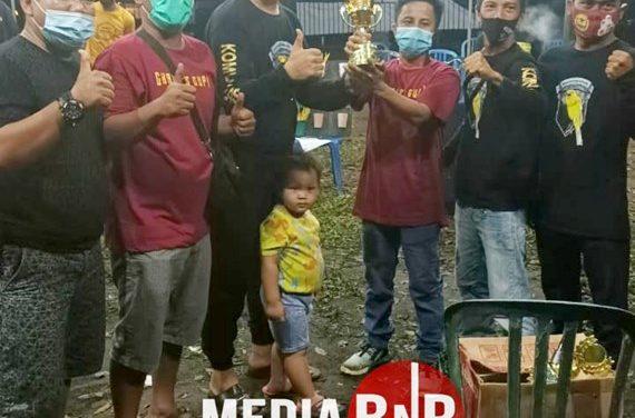 Rajai Di Setiap Kelas, Komunitas Kenari Raflesia Bengkulu Berhasil Memboyong Juara BC Di Piala Charles Cup 1