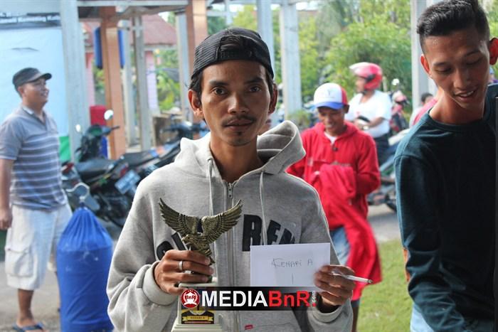 Kadal Kuning Borong Juara