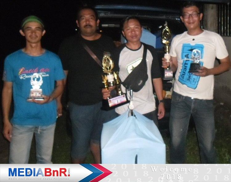 Kalah tos di BnR Award dan 2 kali rebut juara ke-2, Naruto andalan H. Ikin dari SDX 678 Bandung cetak double winner rebut  2 kali juara ke-1