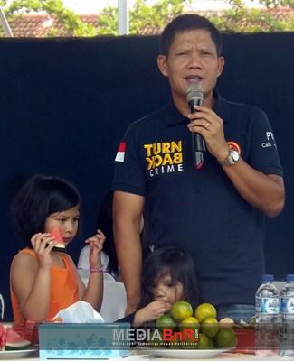 Kapolres Jepara, M. Samsu Arifin, S.I.K., M.H. Berikan Kata Sambutan dan Dilanjut dengan Penggantangan Perdana