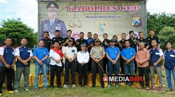 Kapolres Tuban Foto Bersama Panitia dan Sejumlah Petinggi di Jajaran Instansi dan Militer Kabupaten Tuban
