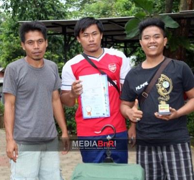 Karim - Mystogan Rebut Juara Pertama