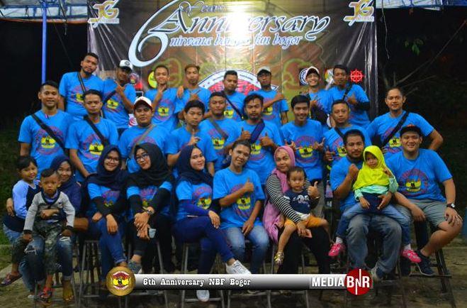 6th Anniversary NBF Bogor, Rasa Persaudaraan Jadi Kunci Utama