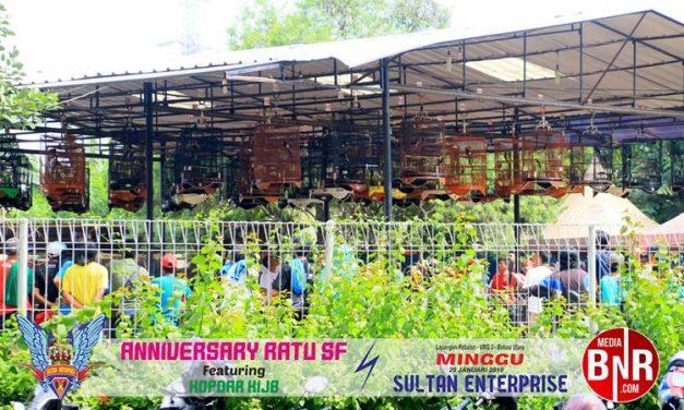 Dimeriahkan 817 Peserta, Anniversary Ratu SF Sukses Menambah Kemeriahan Di Arena Lomba Sultan Enterprise.