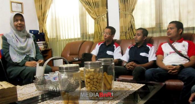 Kepala Dinas Sosial Kabupaten Garut Menerima Perwakilan Yayasan BnR