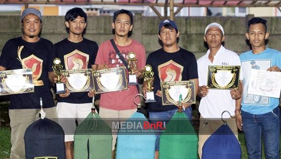 Kertanegara Team Dominasi Juara di Kelas Lovebird