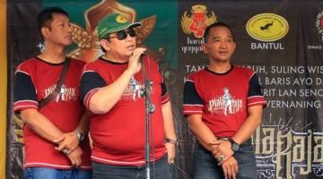 Ketua PBI Pusat - H. Subagyo Memberikan Sambutan (Halaman Utama)