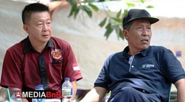 Ketua Pelaksana Aan Yap Bersama Drs. H. Abdullah Sani