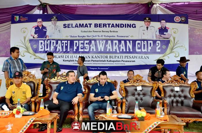 Ketua Umum Organisasi BnR Indonesia bersama Bapak Bupati Kabupaten Pesawaran