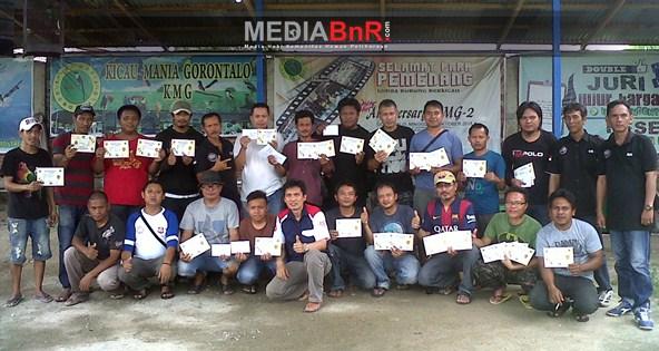 Kolaborasi Antar Bird Club Meramaikan Gantangan BnR Gorontalo