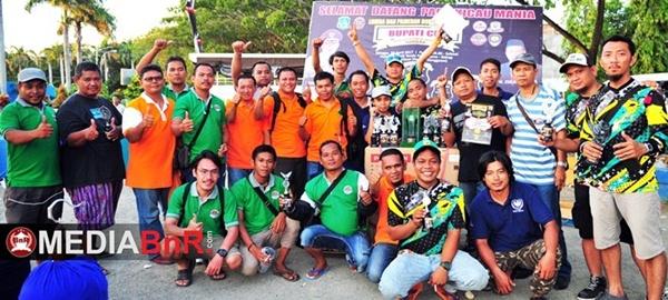 Kicaumania Lintas Daerah Sulawesi Ramaikan Gelaran Bupati Cup I Sidrap