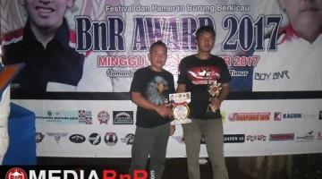 King Speed  milik H. Beny dari Bandung, raih juara ke-2 di kelas Campuran Impor BnR Award 2017