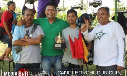 Nyaris Hat-trick, Kitaro Buktikan Terbaik di Borobudur Cup I