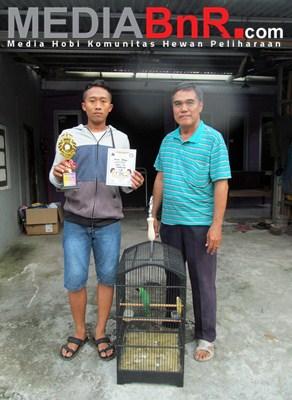 Koh Lok Orbitkan Cucak Hijau Lidah Mertua