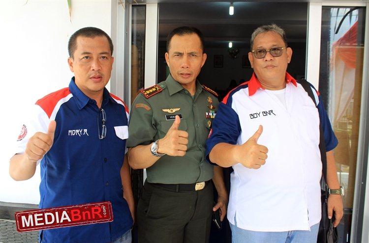 Kol Inf Very Sudjianto Sudin S.IP Danrem 063 Cirebon & Bang Boy dan Adry Riady