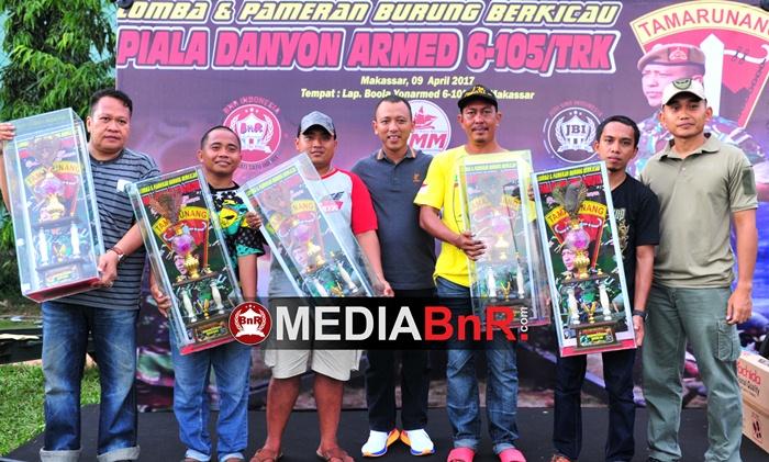 Losari BC dan Nilam Jaya SF Raih Juara Umum Terbaik di Lomba Piala Danyon Armed 6-105/TRK