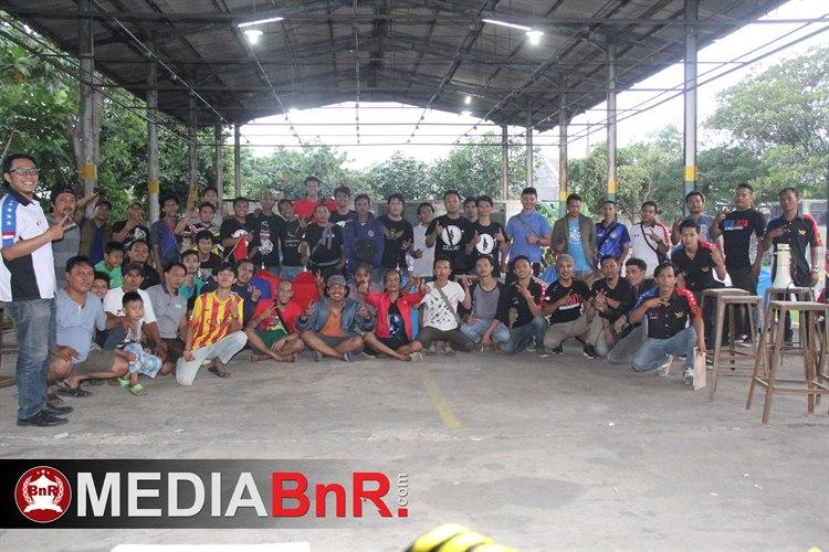 724 Kontestan Bertarung Sengit Di Cuaca Ekstrim
