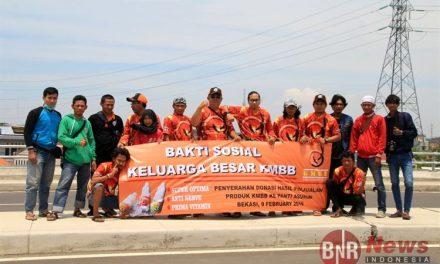 Junjung Nilai Solidaritas Dan Rasa Peduli, KMBB Gelar Baksos Santuni Anak Yatim dan Kaum Dhuafa