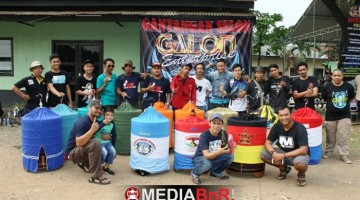 Komunitas Murai Batu Borneo Ramaikan Galon Enterprise