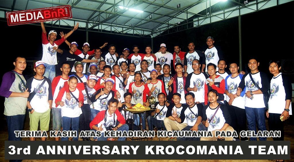 Satu Rasa Satu Hobby Krocomania Team Di Anniversary Ke 3