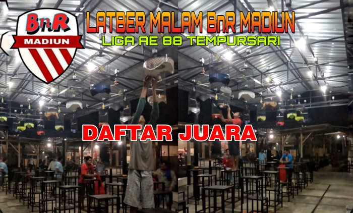 Daftar Juara Latber BnR Madiun, Liga EA 88 Tempursari (14/3/2019)