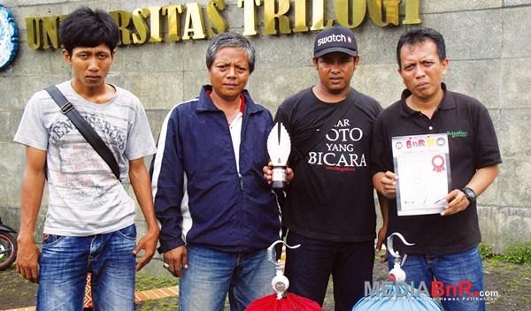 LB Audrey gacoan Rizal Dava BF meraih  runner up