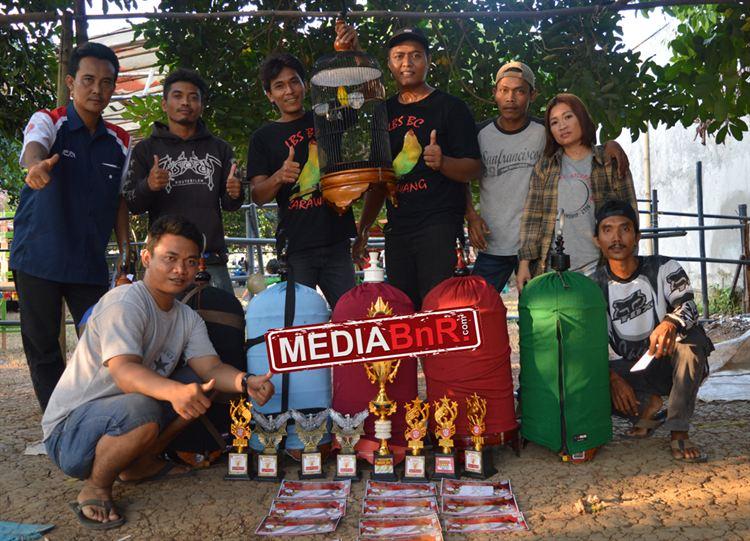 LBS BC Borong juara di Kelas Love Bird.