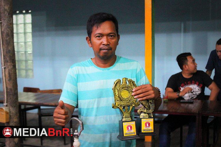 Lakban milik Maman Borong  Juara