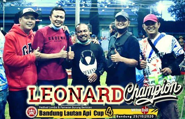 LEONARD, Juara Bertahan di Bandung Lautan Api
