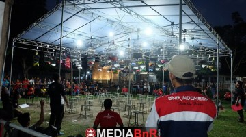 Lomba Sangkar Mas Cup I Kerja Bareng BnR Kediri Berakhir Hingga Malam