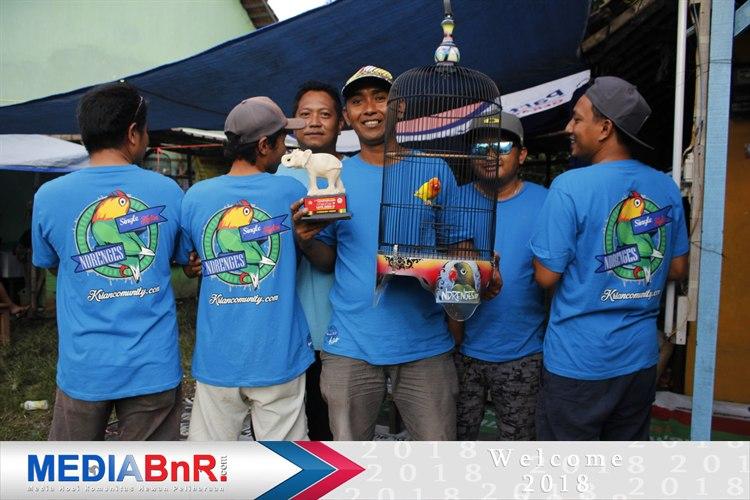 Love Bird Revo Milik Hasan Ndrenges SF Krian Harus Puas Berada di posisi Lima Besar