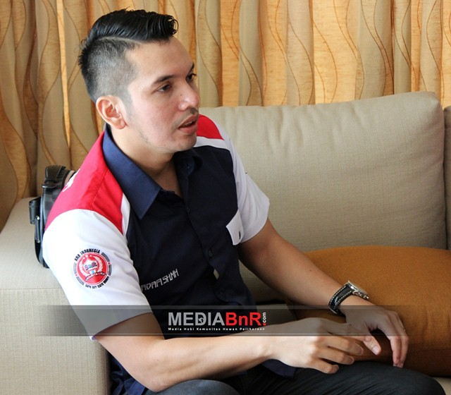 M. Kadafi ketum BnR Indonesia foto imul-abak