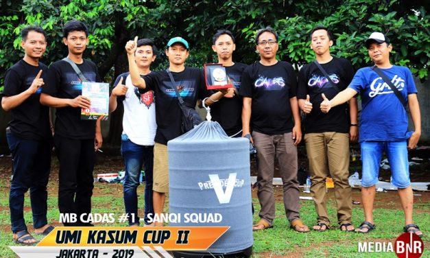 Gebrakan MB Cadas di Umi Kasum Cup 2