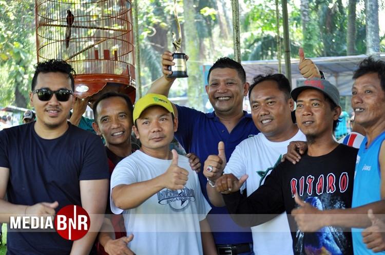 Murai Batu Donat Menangi Kelas Ring di Lomba Murai Batu Bird Champion Jakarta